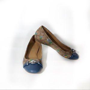 Coach Leila Posey Ballet Flats